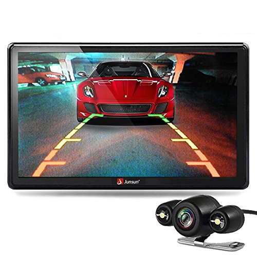Gps Rear View Camera (junsun 7″ Car GPS Navigation Windows CE System Navigator Lifetime Maps and Rear view camera)