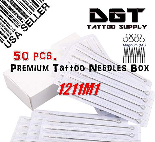DGT Premium Tattoo Needles 11M1 (Mag)
