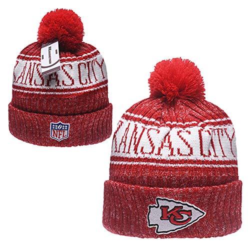 Kansas Scrubs - JOE JOURNEYMAN Kansas City Chiefs Cold Weather Sport Knit Cap