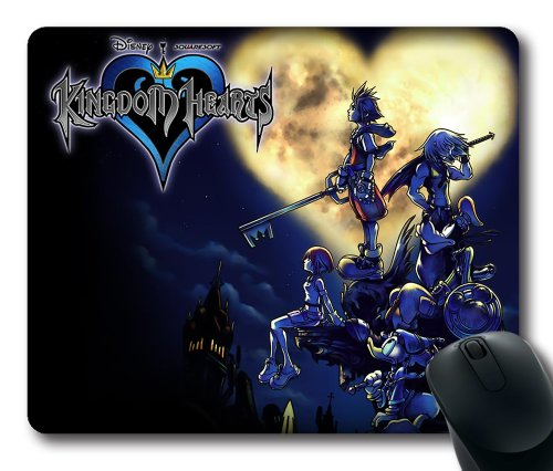 Kingdom hearts rectangle mouse pad by icasepersonalized