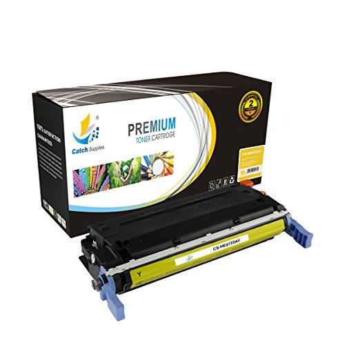 C9722a Replacement (Catch Supplies Replacement C9722A Yellow Toner Cartridge for the HP 641A series |8,000 yield| compatible with the HP Color LaserJet 4600, 4610, and 4650 printer series)