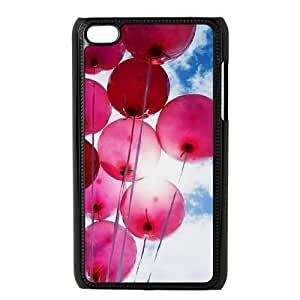 YananC(TM) YnaC215681 Custom Cover Case for Ipod Touch 4 w/ Happy Balloons