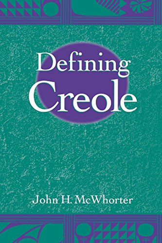 Defining Creole