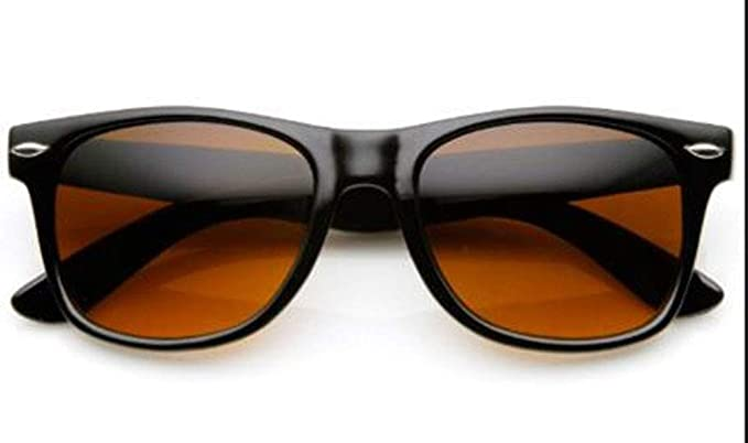 7908c826b5 Amazon.com  Blue Blocking Driving Amber Tint Lens Sunglasses  Clothing
