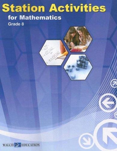 Station Activities for Mathematics, Grade 8 pdf epub