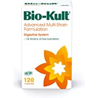 Bio-Kult Advanced Multi-Strain Bacterial Culture Formulation - Pack of 120 Capsules