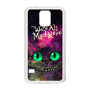 Samsung Galaxy S5 Phone Case Cover Alice in Wonderland ( by one free one ) A63261