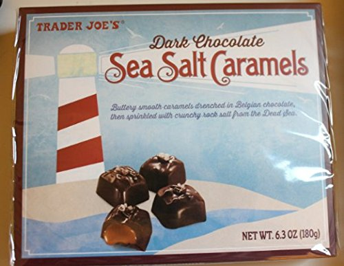 Trader Joe#039s Dark Chocolate Sea Salt Caramels
