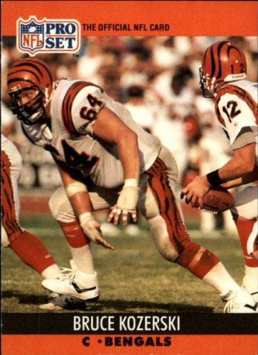 1990 Pro Set Card - 1990 Pro Set Football Card #465 Bruce Kozerski