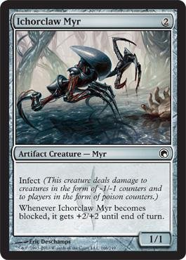 Magic: the Gathering - Ichorclaw Myr - Scars of Mirrodin