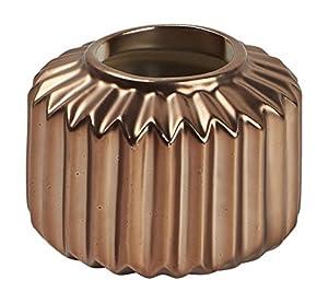 MADURA 15241Carousel jarrón Porcelana Cobre 7,8x 7,8x 6cm