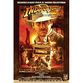 Raiders of the Lost Ark 1981 Harrison Ford movie poster 24x36 inches