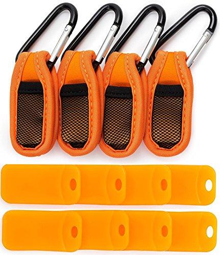 Mosquito Repellent Reusable Clip (4 Pcs) & Refills (8 Pcs) - Premium Quality -...