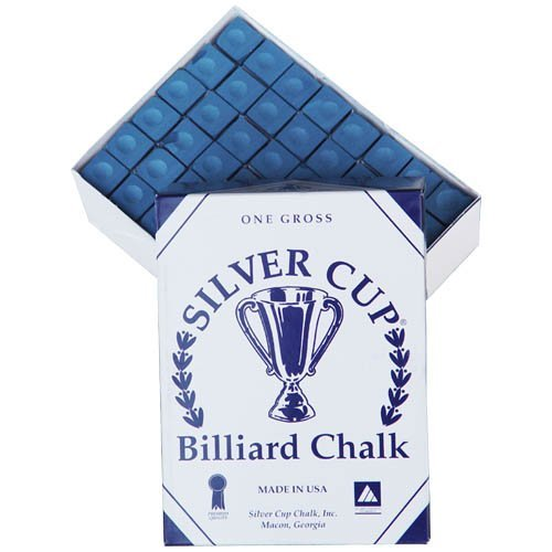 Silver Cup Chalk - Box of 144 Pieces Color: Blue by Silver Cup