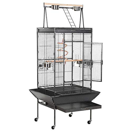 """Yaheetech 68"""" Small Pet Animal Adults Rats Sugar Glider Chinchilla Ferret Chameleon Cage and Habbitat with Stand"""