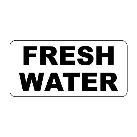 Amazon.com: Cartel de agua dulce negro retro estilo vintage ...