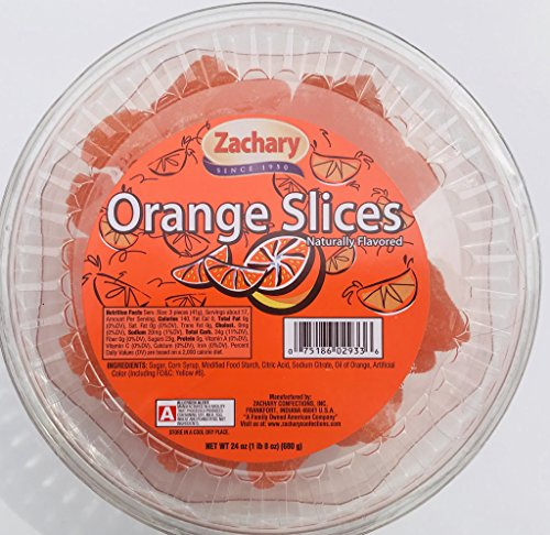 Zachary 24oz Jelly Tubs (Orange Slices)