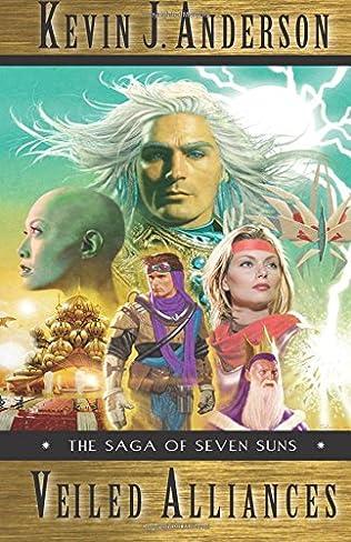 book cover of Veiled Alliances: A Prequel Novella