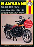 H910 Haynes Kawasaki KZ Z ZR ZX 400 500 550 1979-1991 Motorcycle Owners Workshop Manual