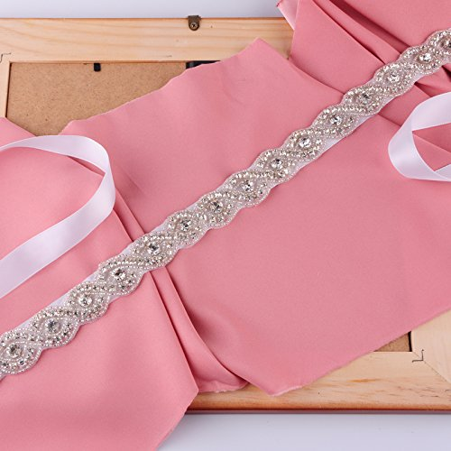 Wedding Belts for Sash Wedding Bridal Gray Belt Dress Women's Azaleas Sashes gBq4p8w