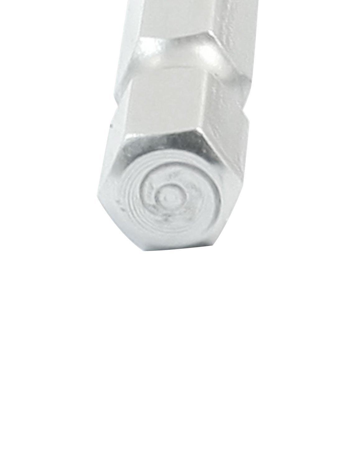 eDealMax 10Pcs 2, 5 mm x 100 mm magnética de cabeza hexagonal punta ...