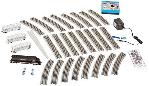 Acf Covered Hopper - Kato USA Model Train Products Ho Unitrack Starter Set - EMD GP35 New York Central with ACF Covered Hoppers