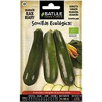 Semillas Ecológicas Hortícolas - Calabacín Belleza negra