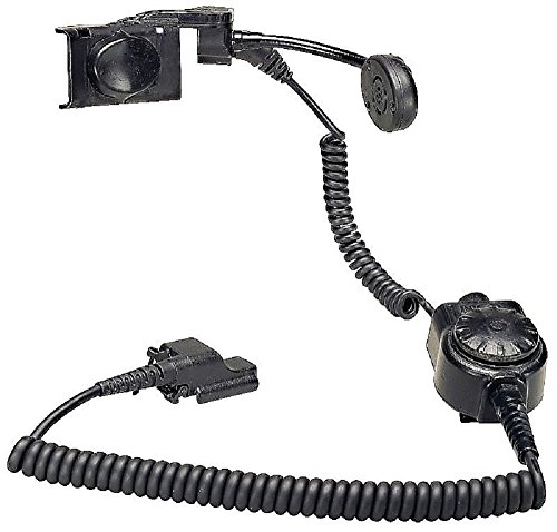 MSA 10045710 Clear Command Fire Helmet Communication System with PTT Mic, Radio Interface, KENWOOD TK280 and TK290 RADIO