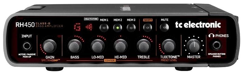 TC Electronic RH450:フロントパネル