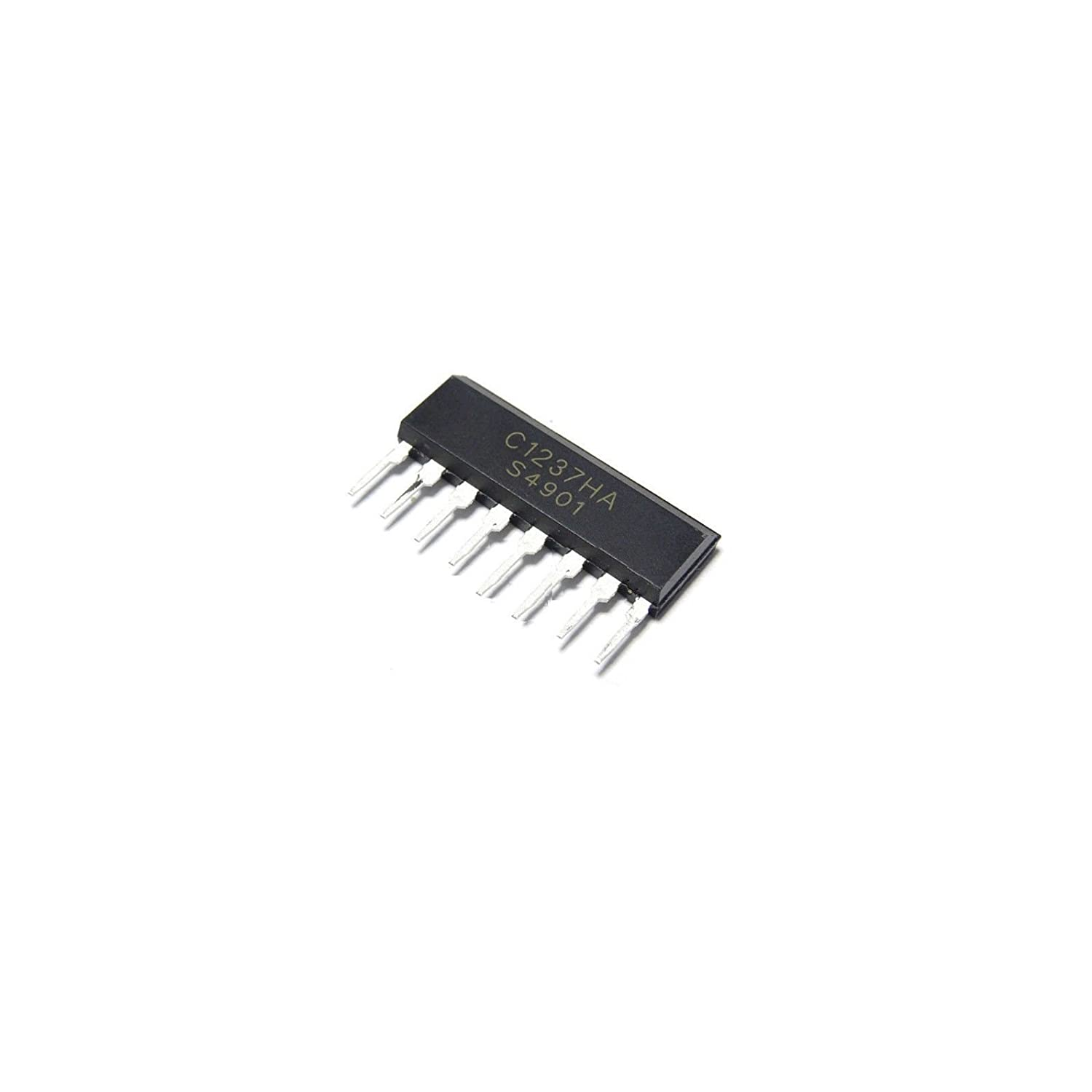 5pcs New Upc1237ha C1237ha Protector Ic For Stereo Power Amplifier Sip 8 1500w Schematic