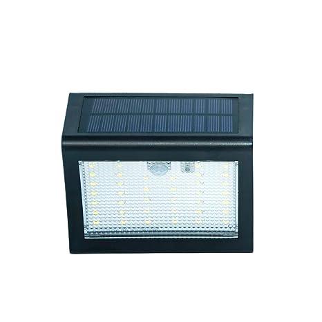 STRIR Foco Solar,Luces Solares 38 LED,1000mAh Lámparas Solares de Pared Impermeable,