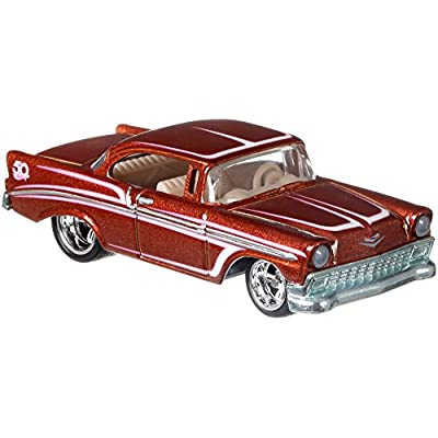 Hot Wheels 50th Anniversary Favorites 56 Chevy Vehicle: Toys & Games
