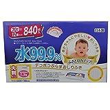Dekopoko plus wipes 99.9% 840 sheets water (70 sheets x12 pieces) 200x180mm