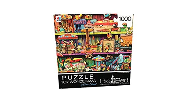 Cardinal Big Ben Toy Wonderama Jigsaw Puzzle 1000 Pieces Spin Master 20084244
