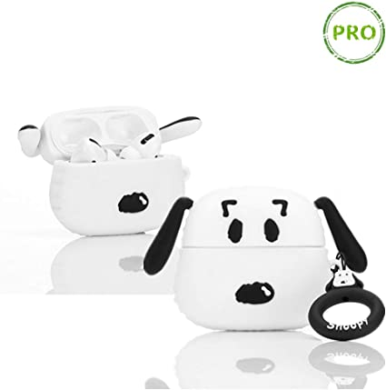 Hard Plastic Clear Transparent Peanuts Snoopy Charlie Case for Apple Airpods Pro AirPods3 3rd Gen 2019 Wireless Earbuds Japanese Cartoon Fun Kids Girls Teens