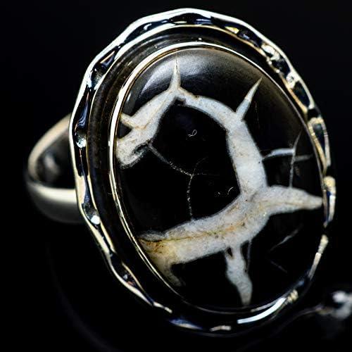 Septarian Geode セプタリアン・ジオードシルバー925リング10.5