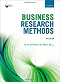 Business Research Methods 4th Edition