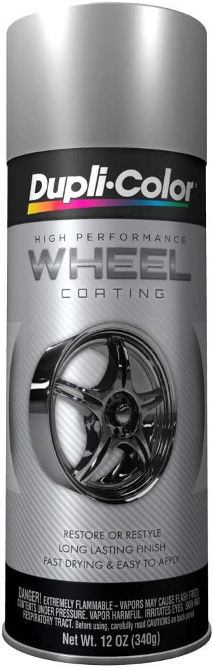 Dupli Color Ehwp10107 Silver High Performance Wheel Paint 12 Oz