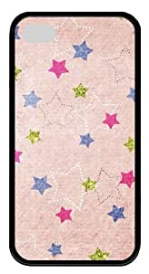 iphone 4S online cases patterns abstract pink stars 60 TPU Black for Apple iPhone 4/4S