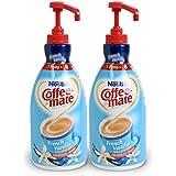 NESTLE COFFEE-MATE Coffee Creamer, French Vanilla, 1.5L liquid pump bottle, Pack of 2