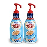 NESTLE COFFEE-MATE Coffee Creamer, French Vanilla, 1.5L liquid pump bottle, Pack of 2