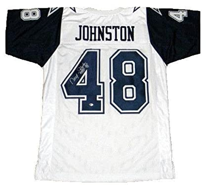 43d3b849c Daryl Johnston Signed Jersey - Moose #48 Thanksgiving - Autographed NFL  Jerseys