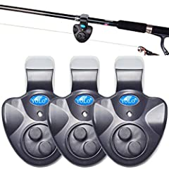 YOLO fishing bite alarm 3 pack - A small but powerful gadget giving you more freedom while fishing How to Use Simply clamp it on your fishing pole, wrap fishing line around dial switcher and you are ready to fish. What It Can Do  1. Enable yo...