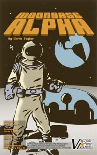Moonbase Alpha - Sci-Fi War #3 - Boxed Board Game