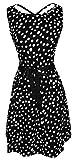 Bonmode-Womens-Retro-Geometric-Dress-and