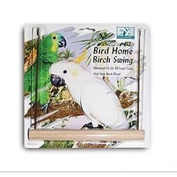 Prevue Pet Products BPV206 Birch Bird U-Type Swing, 9-Inch
