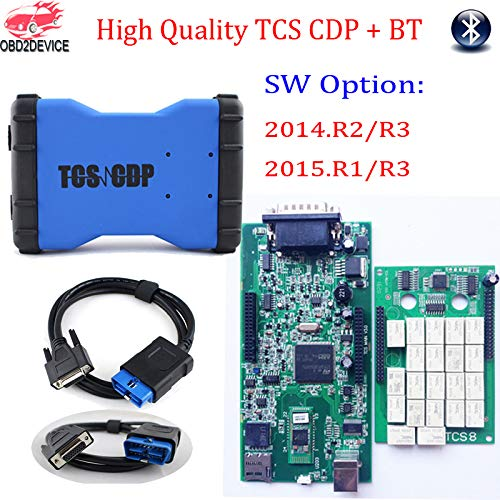 Scan Tools High Quality TCS CDP TCS Car Cable Wow Snooper 150 OBD2 Scanner  with V2015 R3 Software Keygen for Car&Truck Diagnostic Tool - (Color: Wow