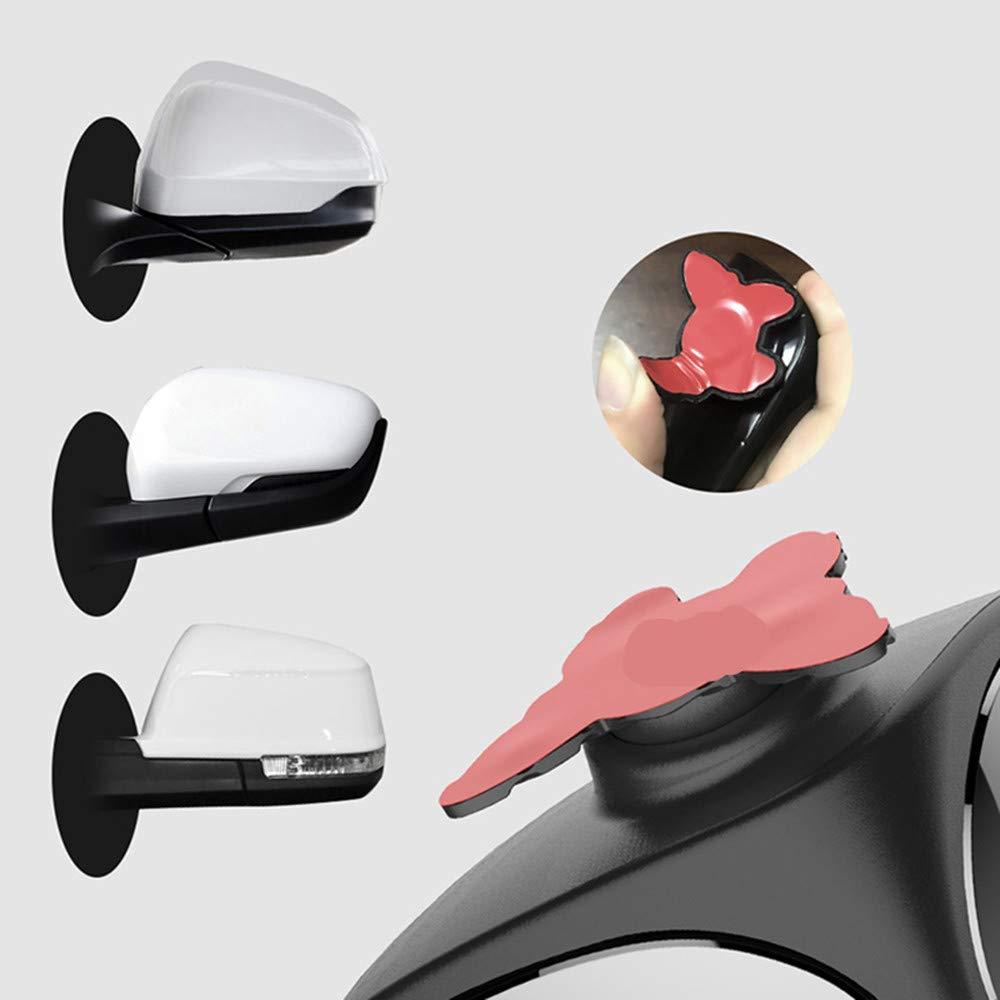 convexos de doble cara JMAHM 2 pares de espejos retrovisores para puntos ciegos giratorios de 360/° se puede ajustar a espejo auxiliar para coche izquierdo y derecho