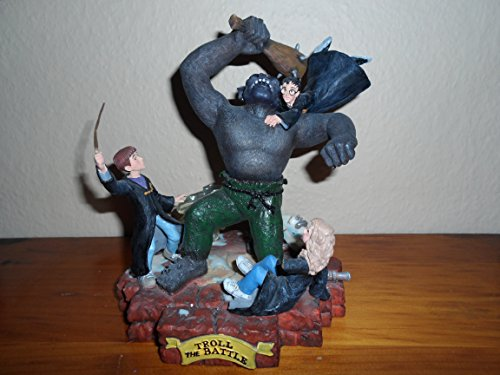Limited Edition Harry Potter The Troll Battle Masterpiece Figurine Statue with Certificate of Authenticity