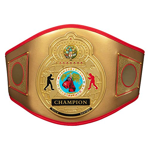 Title Boxing Flash Title Belt, Gold
